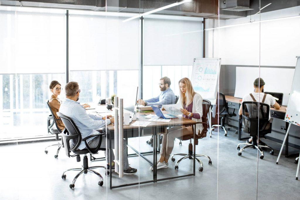Nettoyage de bureaux d'entreprises - Multis 36