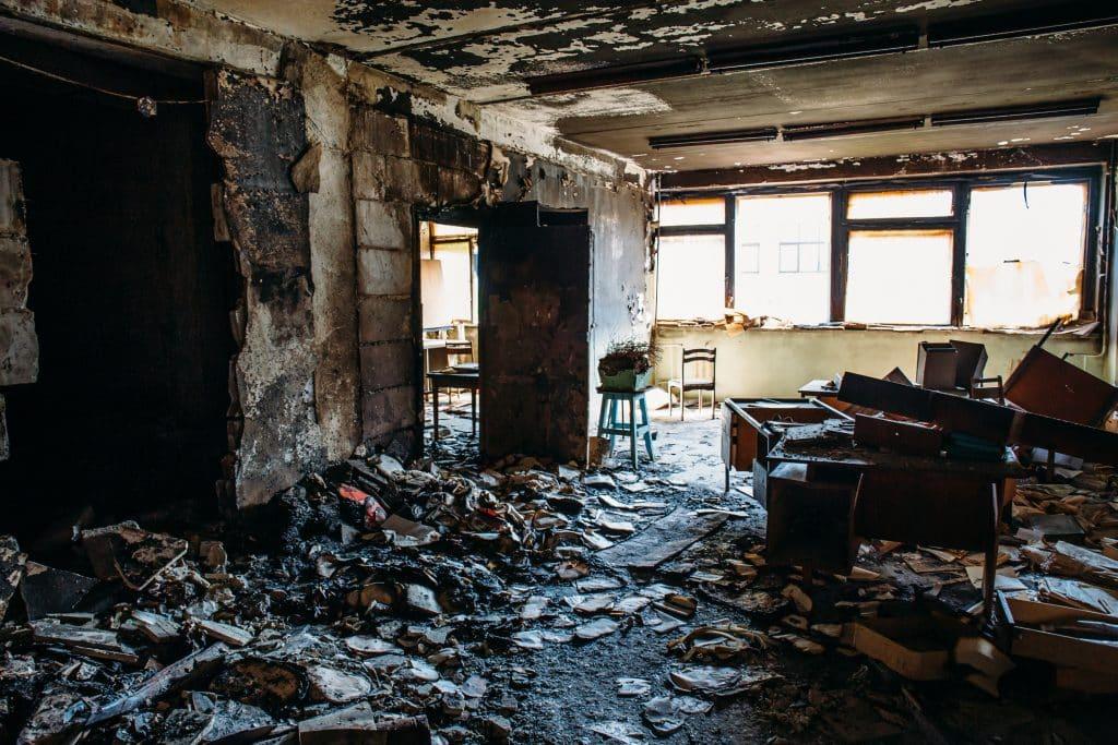 Nettoyage après un incendie - Multis 36